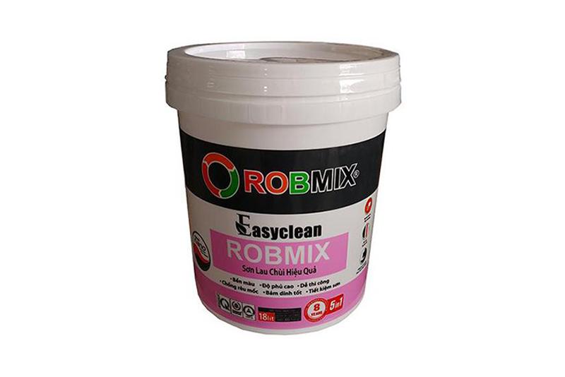 Robmix - Sơn lau chùi hiệu quả