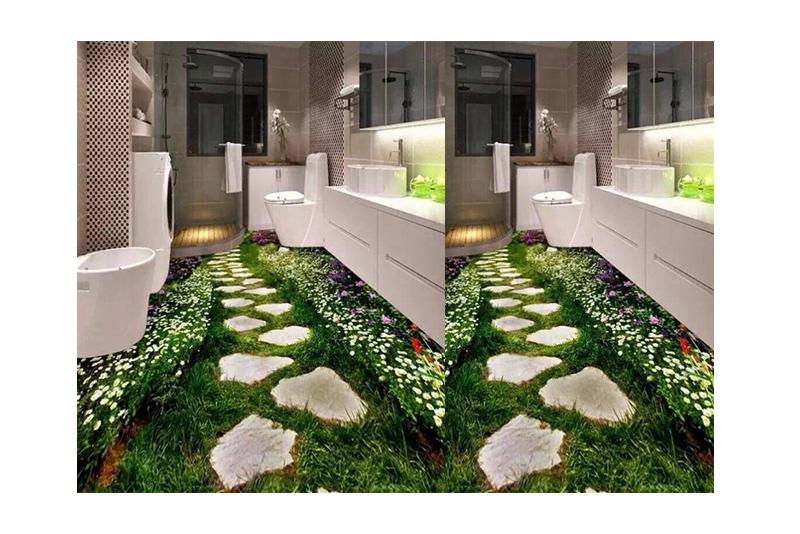 Gạch 3D lót sàn S057